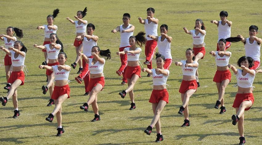 Aerobics competition