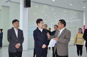 绍兴市委副书记陈澄一行到浙江医药调研产改工作