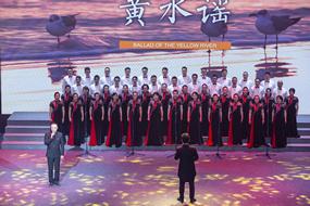 新昌制药合唱团用歌声演绎,献礼建党百年